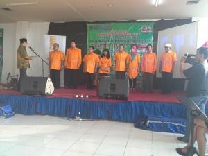 Pengukuhan pengurus FKMetra Bagra oleh Wawali Kota Malang